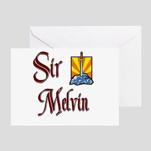 Sir Melvin Greeting Card