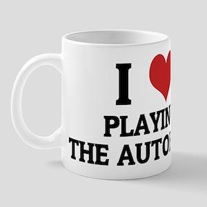 I Love Playing the Autoharp Mug