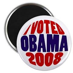 I Voted Obama 2008 Victory Magnet