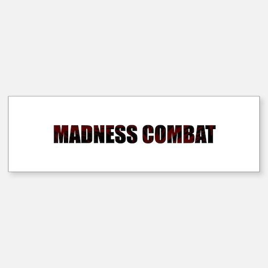 Madness Combat Bumper Bumper Bumper Sticker