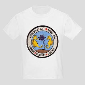 USS EXPLOIT Kids Light T-Shirt