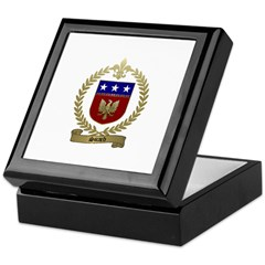 SICARD Family Crest Keepsake Box