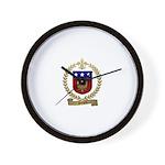 SICARD Family Crest Wall Clock