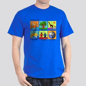 Recycle ReUse colorful design Dark T-Shirt