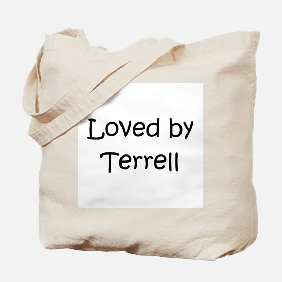 Unique Terrell Tote Bag