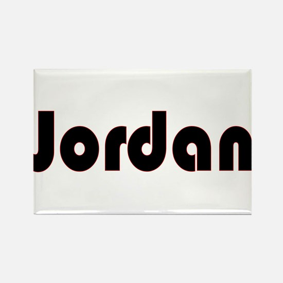 Jordan Rectangle Magnet