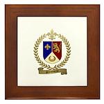 SIMONEAU Family Crest Framed Tile