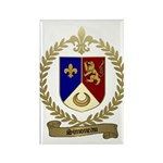 SIMONEAU Family Crest Rectangle Magnet (100 pack)