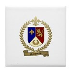 SIMONEAU Family Crest Tile Coaster