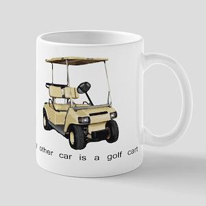 my other car is a golf cart Mug