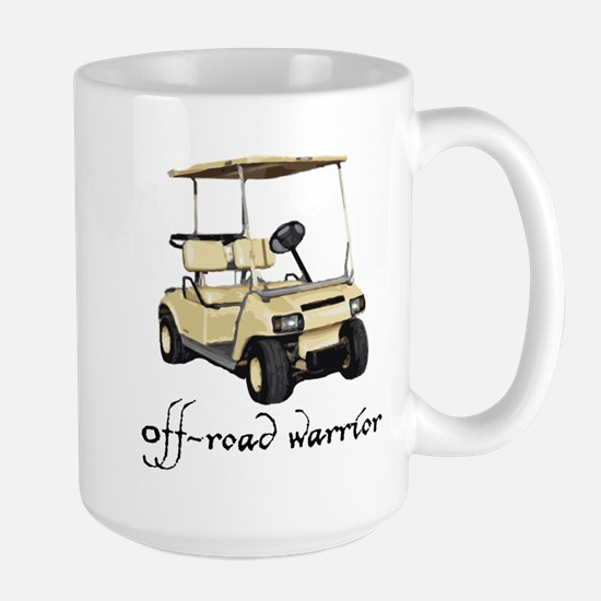 off road warrior Large Mug