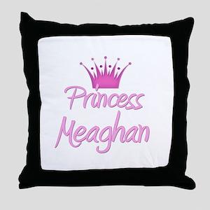 Princess Meaghan Throw Pillow