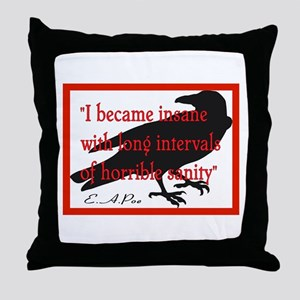 POE QUOTE 2 Throw Pillow