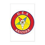 Arizona Order of the Eastern Star Mini Poster Prin