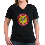 Arizona Order of the Eastern Star Women's V-Neck D