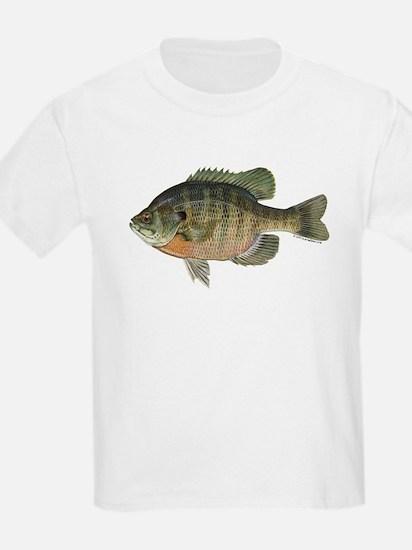 Bluegill Fish Kids T-Shirt