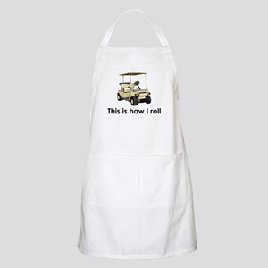 this is how i roll BBQ Apron
