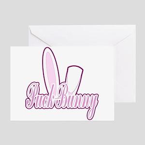 Puck Bunny 2 Greeting Card