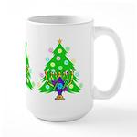 Christmas and Hanukkah Interfaith Large Mug