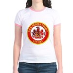 USS FAIRFAX COUNTY Jr. Ringer T-Shirt