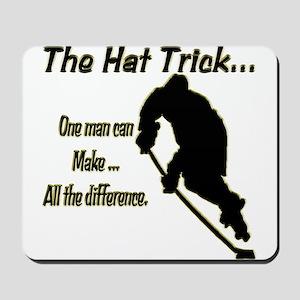 The Hat Trick Mousepad