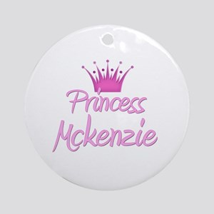 Princess Mckenzie Ornament (Round)