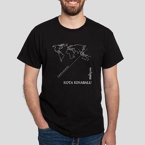Kota Kinabalu Geocode T-Shirt