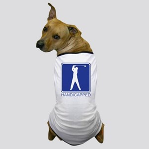 handicapped Dog T-Shirt