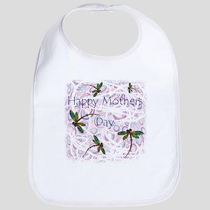 Happy Mother's Day Cotton Baby Bib
