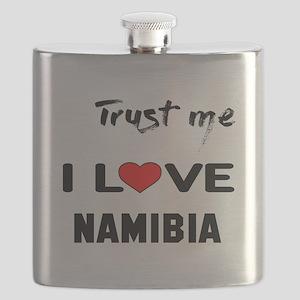 Trust me I Love Namibia Flask
