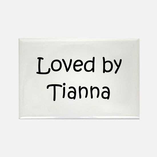 Cute Tianna Rectangle Magnet