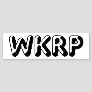 WKRP Sticker (Bumper)