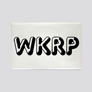WKRP Rectangle Magnet