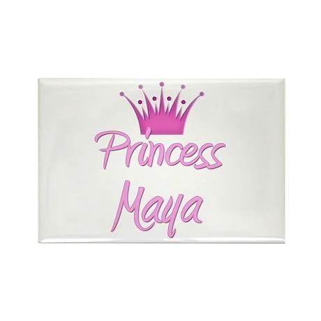 Princess Maya Rectangle Magnet (10 pack)