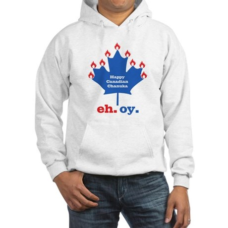 Canadian Chanukah Hooded Sweatshirt
