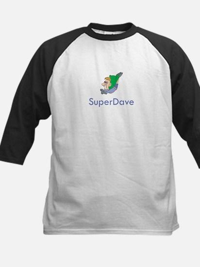 SuperDave Kids Baseball Jersey