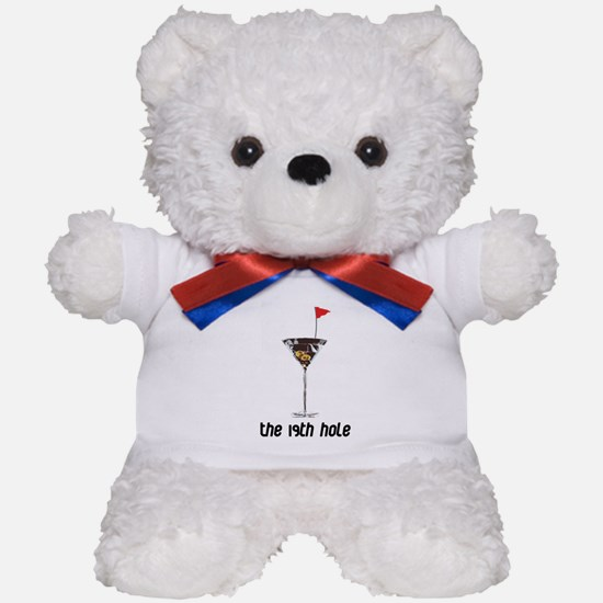 the 19h hole Teddy Bear