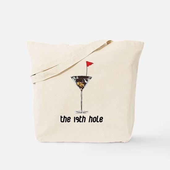 the 19h hole Tote Bag