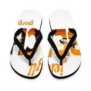 74b66be2c0b547 Jekyll Island Flip Flops - CafePress