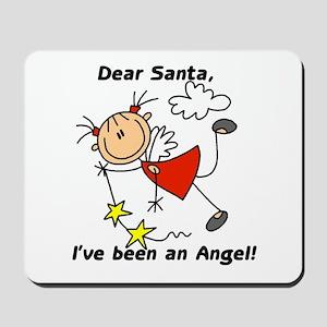 Dear Santa Holiday Mousepad