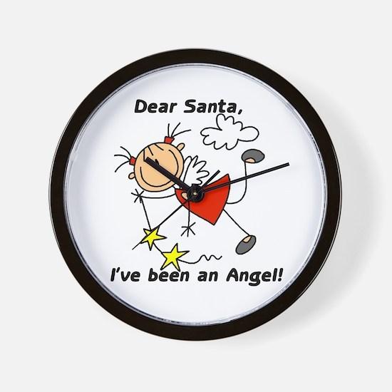 Dear Santa Holiday Wall Clock