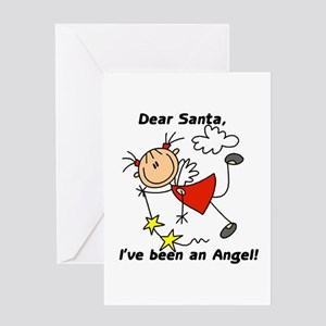 Dear Santa Holiday Greeting Card