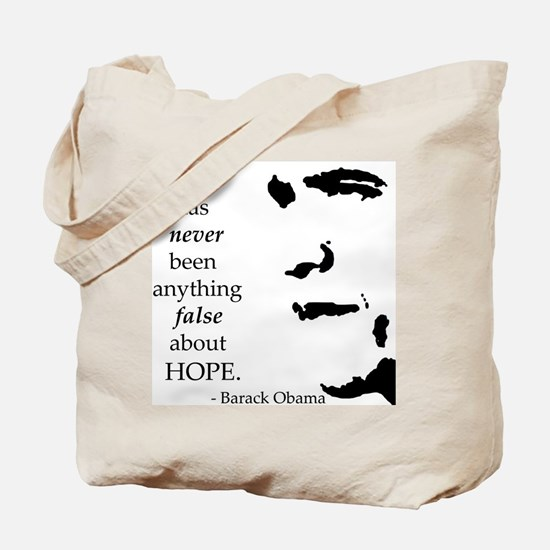 Obama is Hope Tote Bag