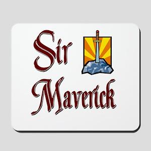 Sir Maverick Mousepad