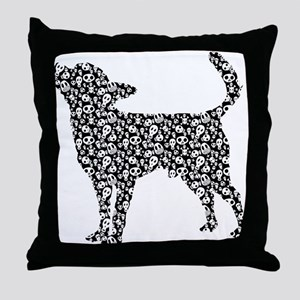 Chihuahua Smoothcoated Throw Pillow