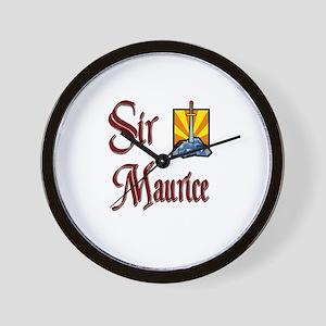 Sir Maurice Wall Clock