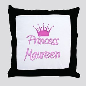 Princess Maureen Throw Pillow
