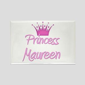 Princess Maureen Rectangle Magnet