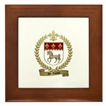 ST. LOUIS Family Crest Framed Tile