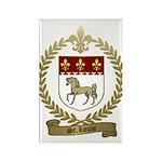 ST. LOUIS Family Crest Rectangle Magnet